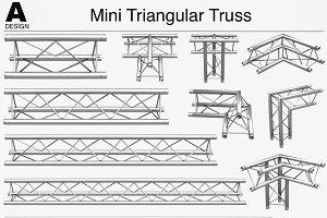 Mini Triangular Truss 009