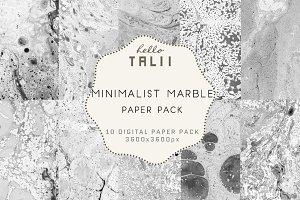 Minimalist Marble Paper-
