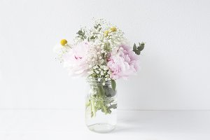 Floral arrangement stock photography