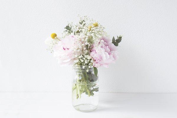 Floral arrangement stock photograph…