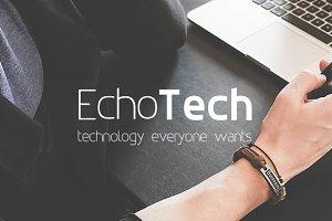 EchoTech Font