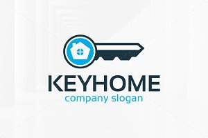 Key Home Logo Template