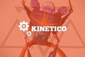 Kinetico - Flat Design Digital Store