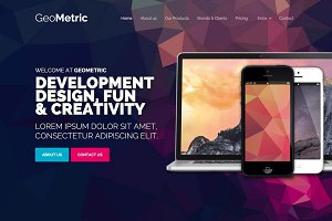 GeoMetric Agency Webflow Template