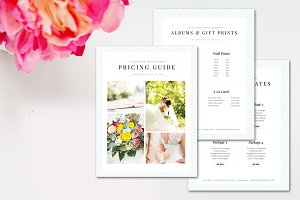 Photography Pricing Marketing Set