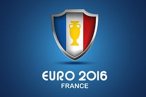 EURO 2016 graphic set. All groups.