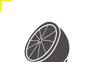 Lemon icon. Vector