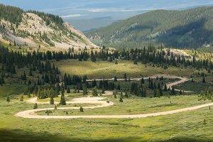 Rolling road in Colorado
