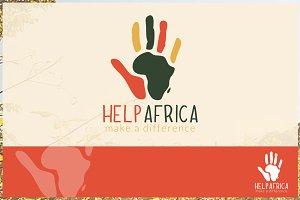 Help Africa Logo Template