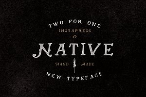 40% Off - Native + Instapress