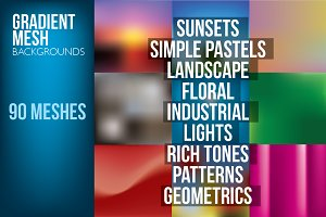 Gradient Mesh Backgrounds