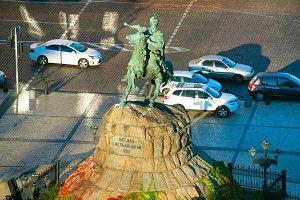 Bohdan Khmelnytsky monument. Kiev