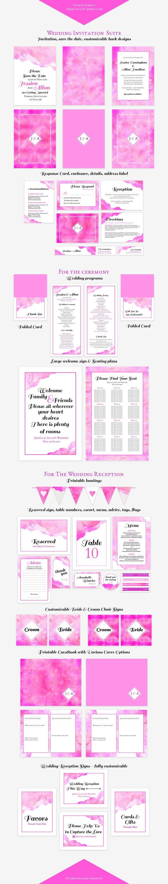 The Comprehensive DIY Wedding Vol 2 ~ Invitation Templates ...