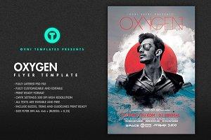OXYGEN Flyer Template