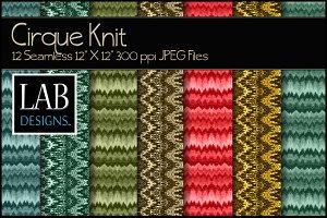 12 Seamless Cirque Knit Textures