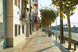 Barcelona suburban life