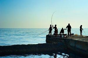 Crimean fishers