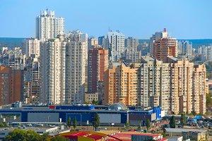 Kiev modern architecture, Ukraine