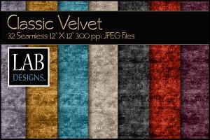 32 Seamless Classic Velvet Textures