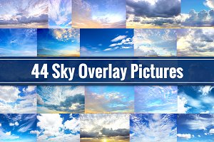 Sky Overlays - 44 Cloud Pictures