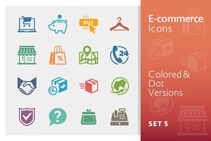E-commerce Icons Set 5 | Colored