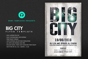 BIG CITY Flyer Template