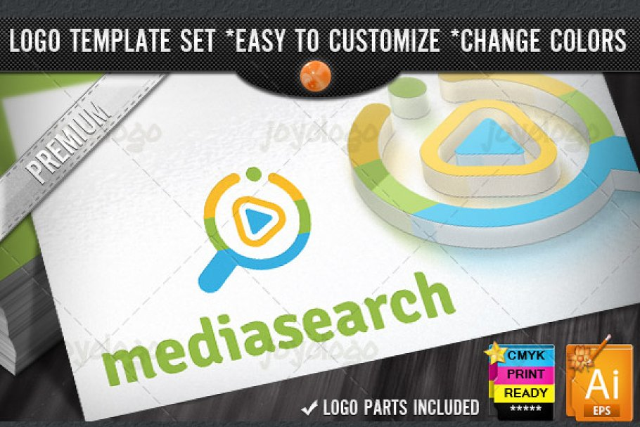 Music Play Media Video Search Logo