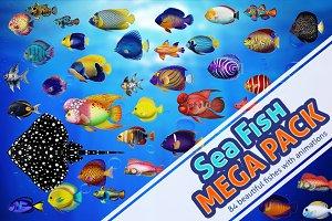 Sea Fish Mega Pack