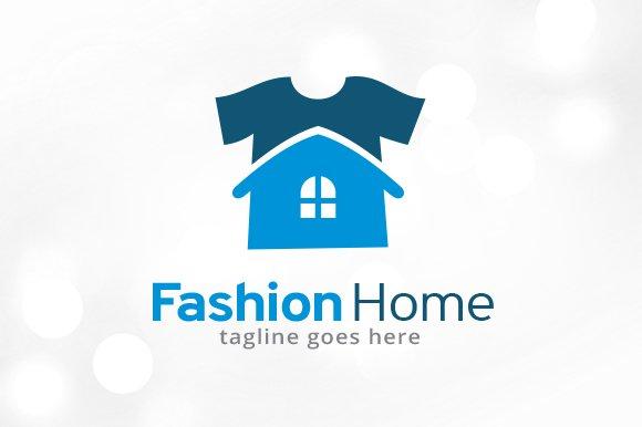Fashion Home Logo Template
