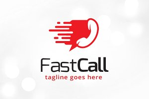 Fast Call Logo Template
