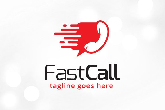 Fast Call Logo Template in Logo Templates