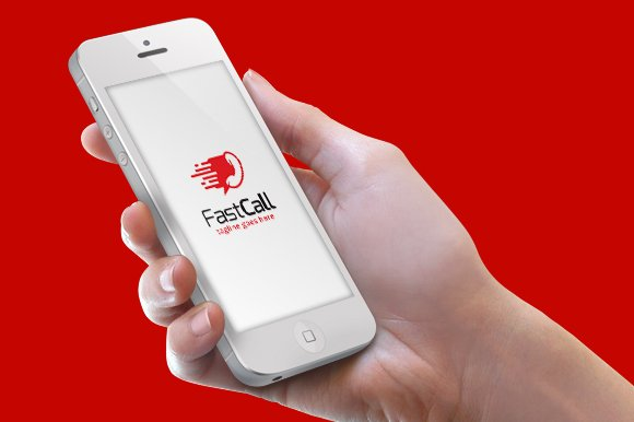 Fast Call Logo Template in Logo Templates - product preview 2
