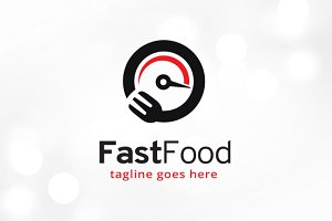 Fast Food Logo Template