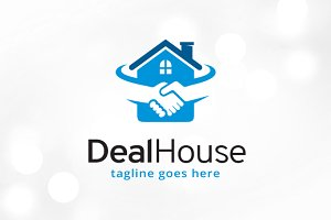 Deal House Logo Template