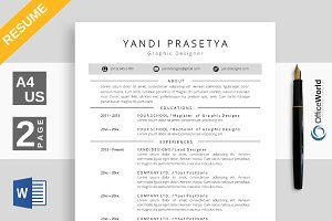 Mellon Resume / CV Ms Word