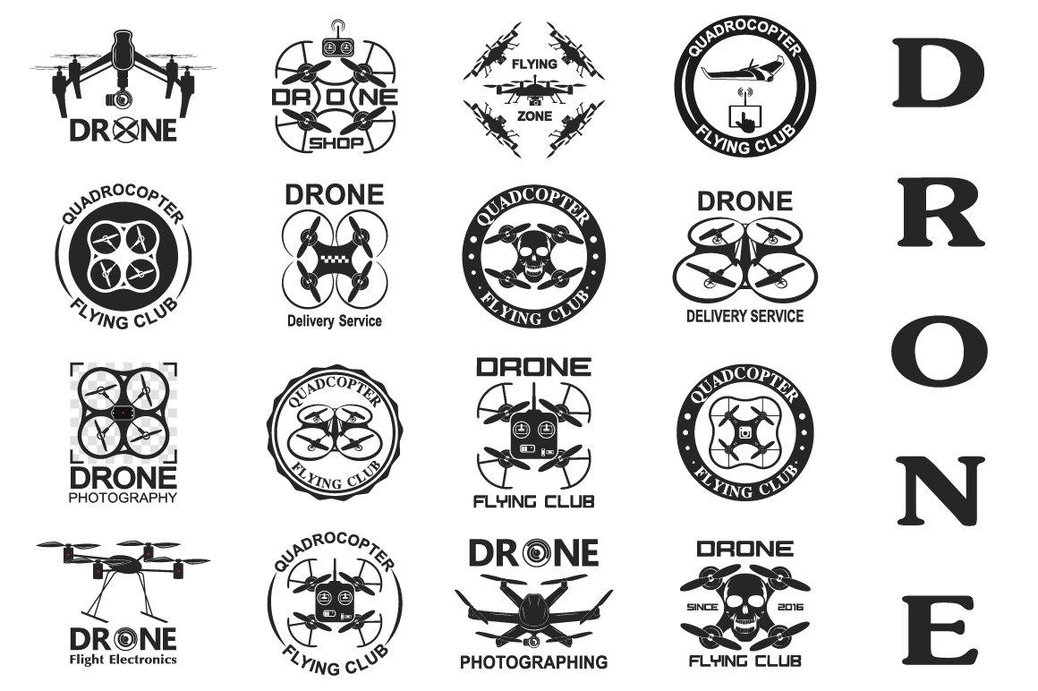DRONE ~ Graphics ~ Creative Market