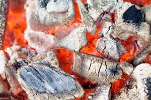 Background of Live Coals