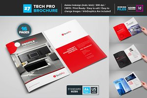 Home Technology Brochure Template 27