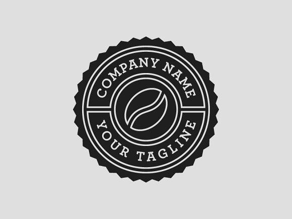 coffee shop logo template psd logo templates creative market