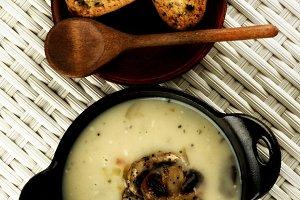 Mushrooms Cream Soup