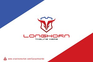 Longhorn Protection Logo template
