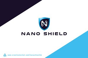 Nano Shield Logo Template