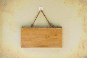 Blank wood board