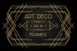Art Deco Elements Vol. 16
