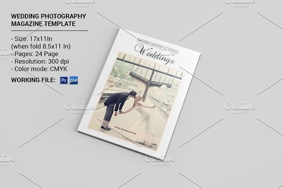 Wedding photography magazine v502 magazine templates on for Wedding photography magazine template