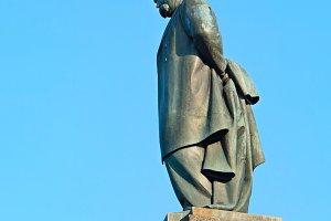 Monument of Taras Shevchenko. Kaniv