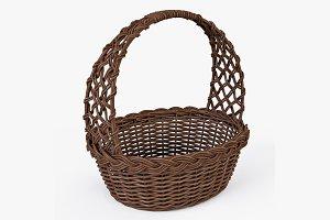 Wicker Basket 04 Brown Color