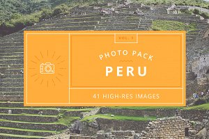 Peru Photo Pack - Vol.1