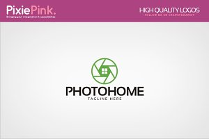 Photo Home Logo Template