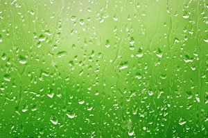 background water drops on glass